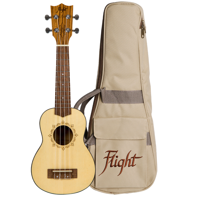 Flight DUS320 SP/ZEB Ukelele Soprano