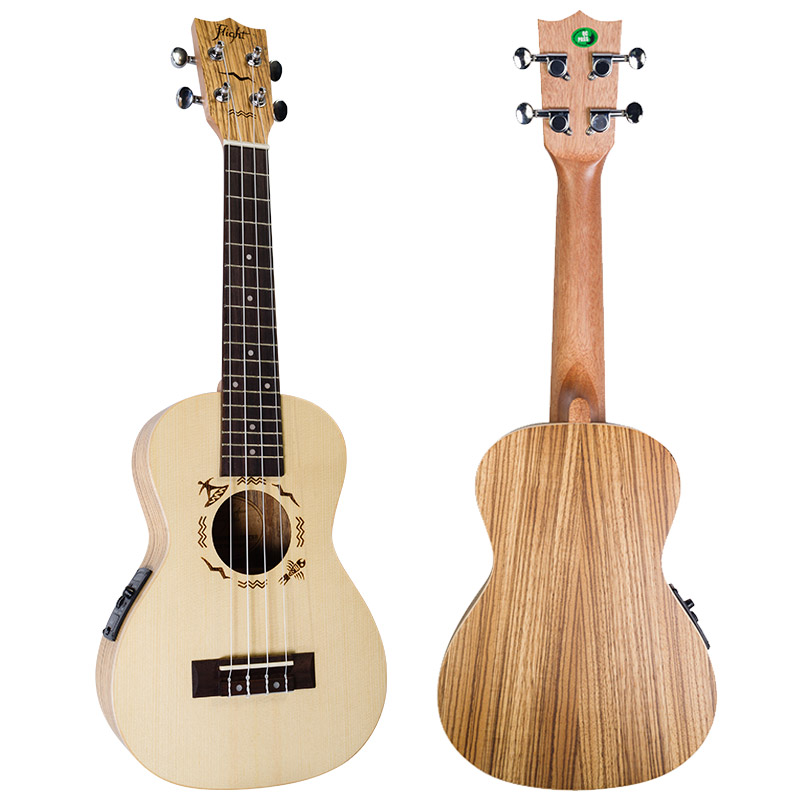 Flight DUC 525CEQ SP/ZEB Concert Ukulele