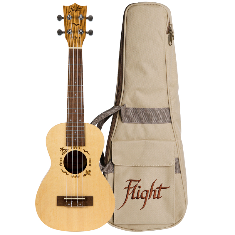 Flight DUC525 SP/ZEB Concert Ukulele
