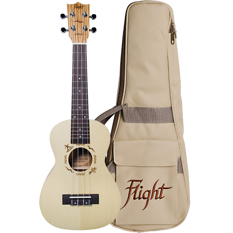 Flight DUC325 SP/ZEB Concert Ukulele