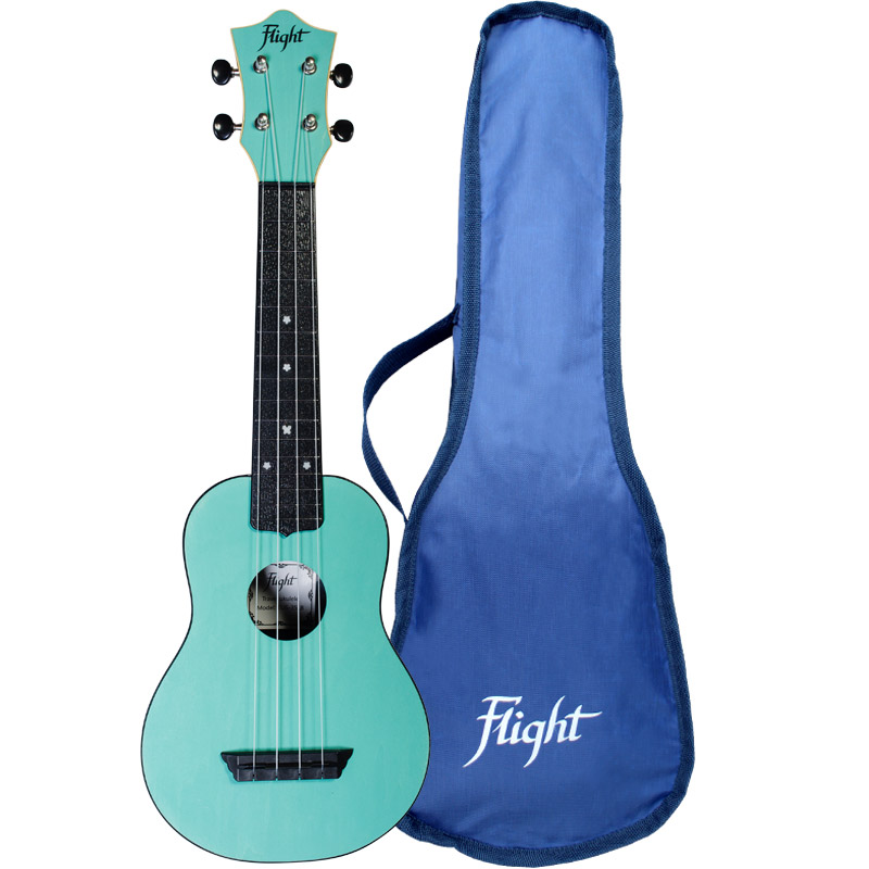 Flight TUS35 Travel Ukelele Soprano Azul Cielo