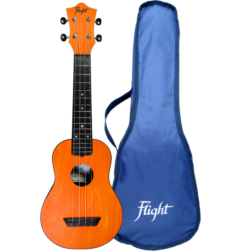 Flight TUS35 Travel Ukelele Soprano Naranja