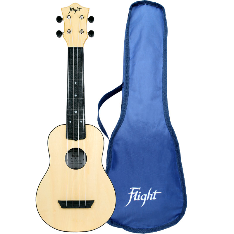 Flight TUS35 Natural Travel Soprano Ukulele