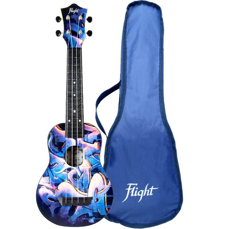 Flight TUS40 Graffiti Travel Ukelele Soprano