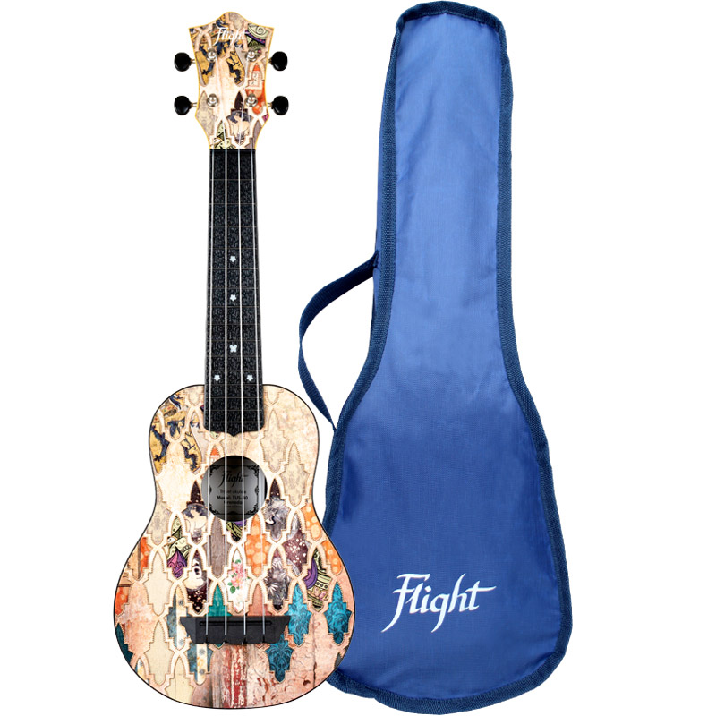 Flight TUS40 Granada Travel Soprano Ukulele