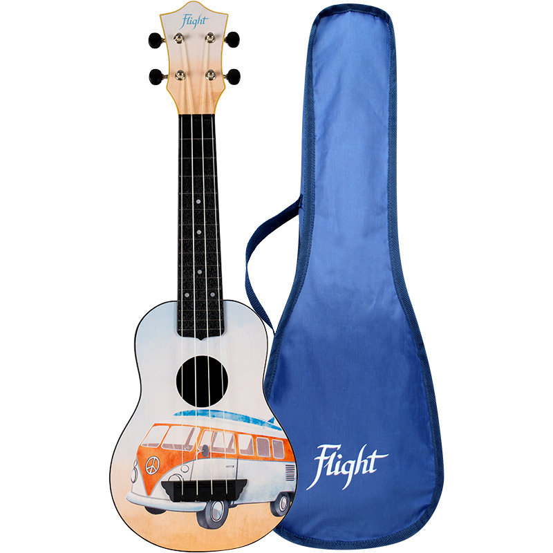 Flight TUS25 BUS Travel Soprano Ukulele