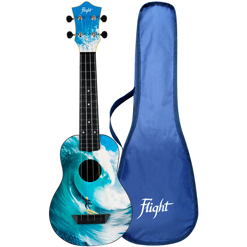 Flight TUS25 SURF Travel Soprano Ukulele