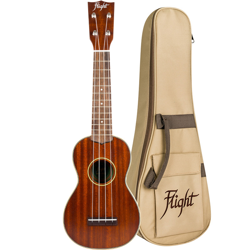 Flight MUS-2 All-solid Mahogany Soprano Ukulele