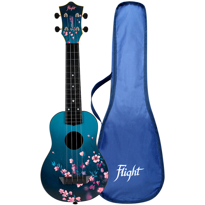 Flight TUS31 SAKURA Bernadette Signature Travel Ukelele Soprano