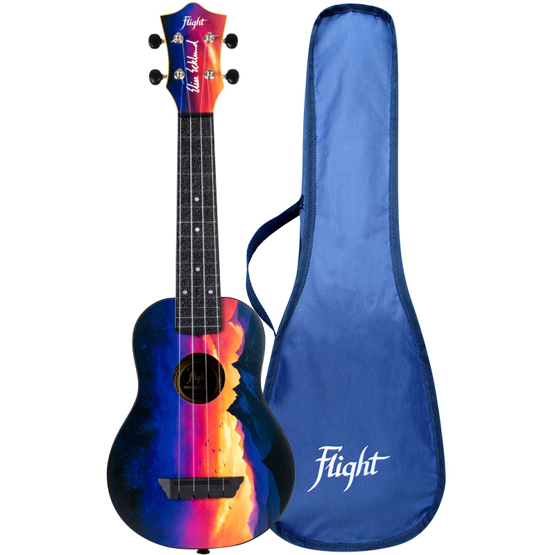 Flight TUS-EE SUNSET Elise Ecklund Signature Travel Ukelele Sopran
