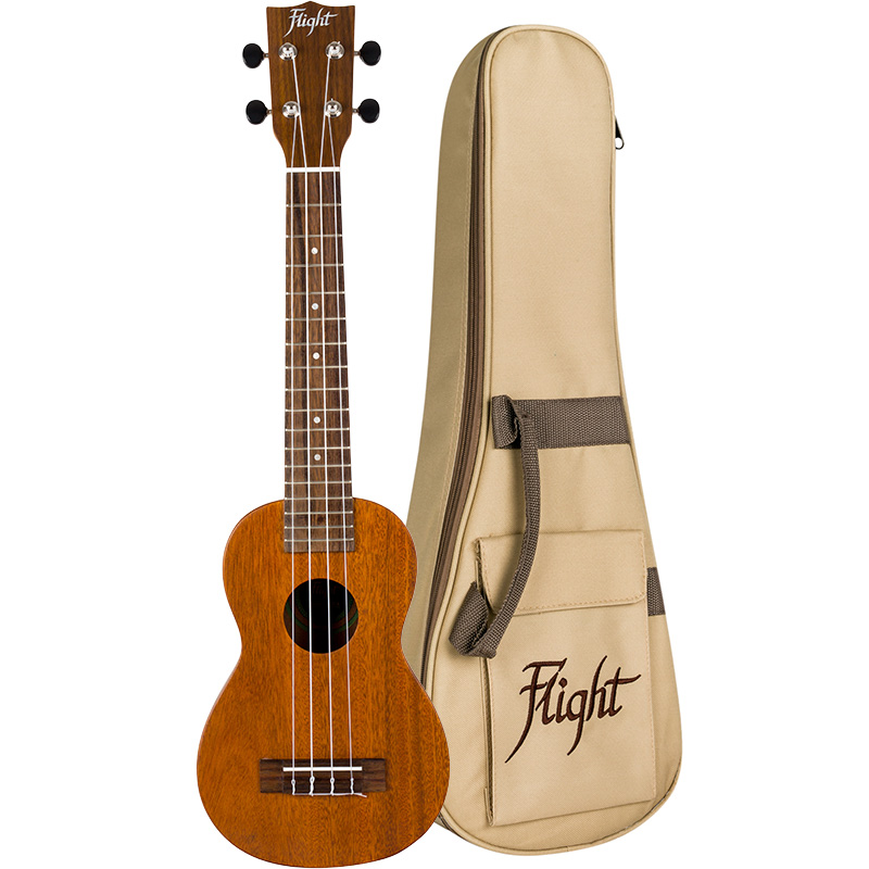 Flight LUS-5 All-solid Mahogany Concert-neck Soprano Ukulele