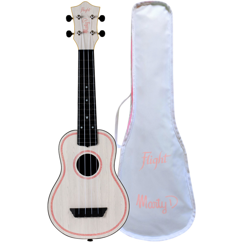 Flight TUS-MARTY Marty Dominguez Signature Travel Soprano Ukulele