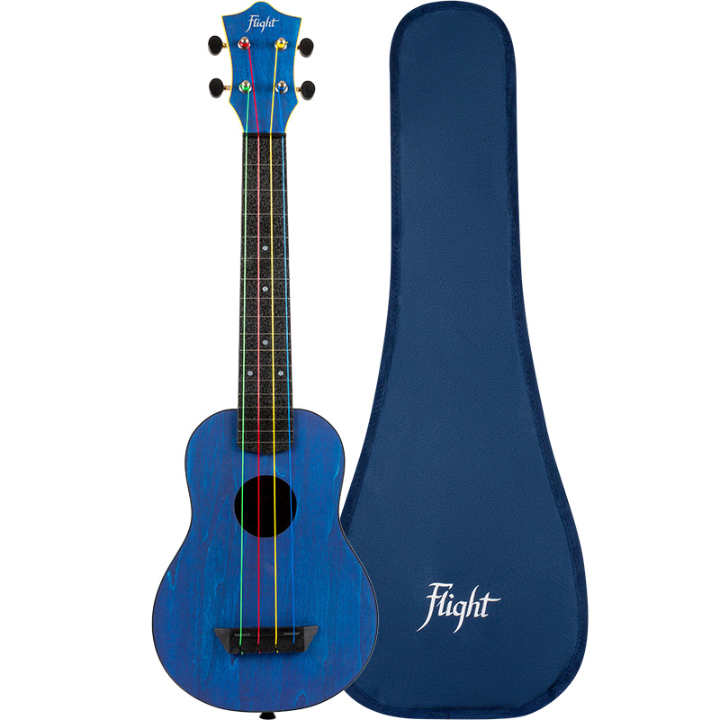 Flight TUSL-KIDZ Concert Scale Soprano Travel Ukulele