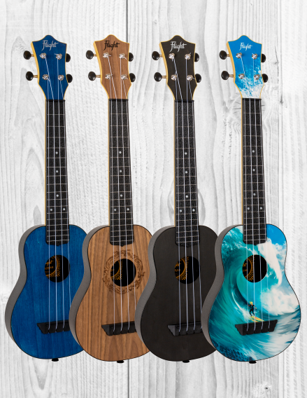 NEW CONCERT-SCALE TRAVEL UKULELES⁠