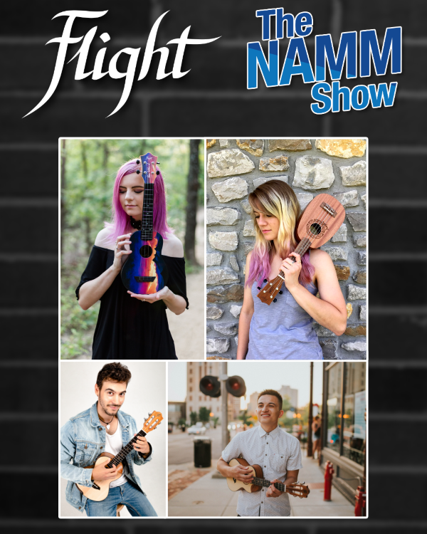 Flight Ukulele NAMM Performances Schedule