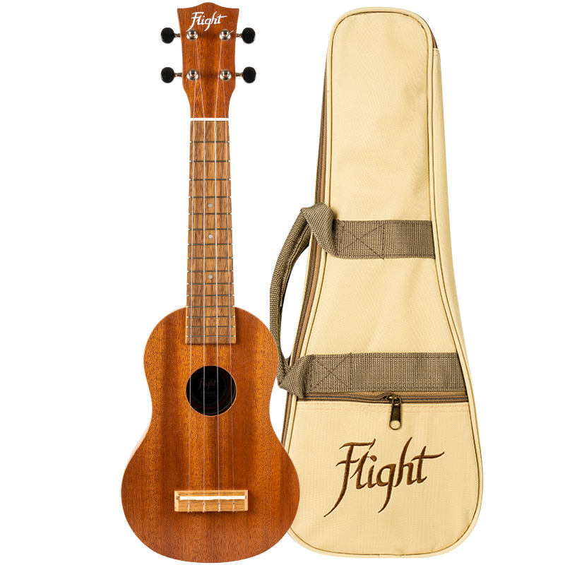 Flight WUS-3 Mahogany Soprano Ukulele (Made In USA)