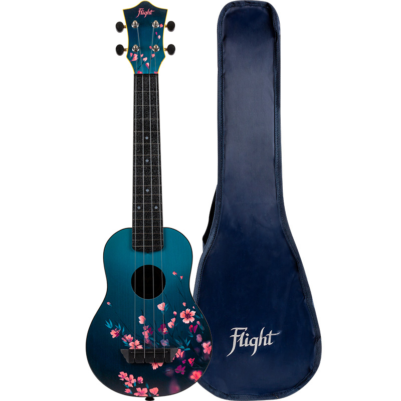Flight TUSL32 Sakura Concert Scale Soprano Travel Ukulele