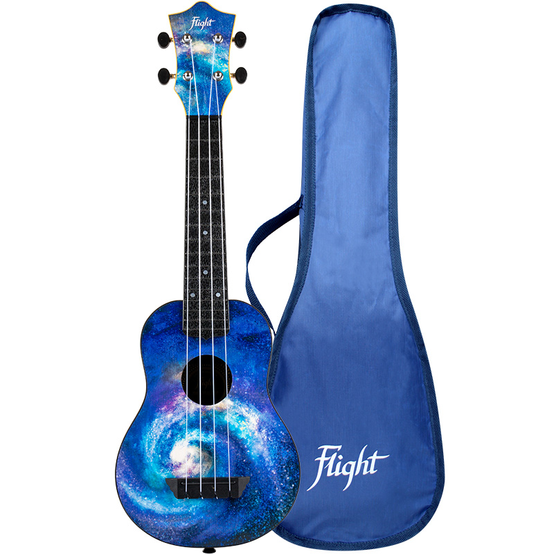 Flight TUS40 SPACE Travel Soprano Ukulele