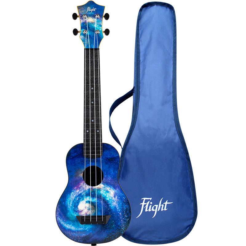 Flight TUSL40 SPACE Travel Concert Scale Soprano Ukulele