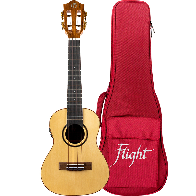Flight Sophia Soundwave Concert Electro-Acoustic Ukulele