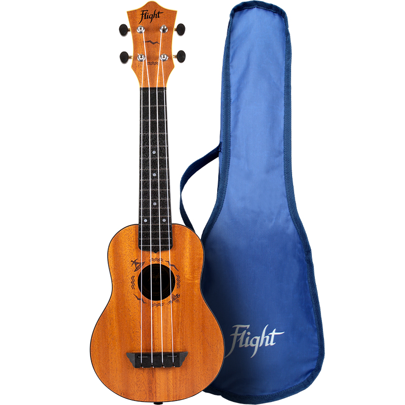 Flight TUS-53 Caoba Travel Ukelele Soprano