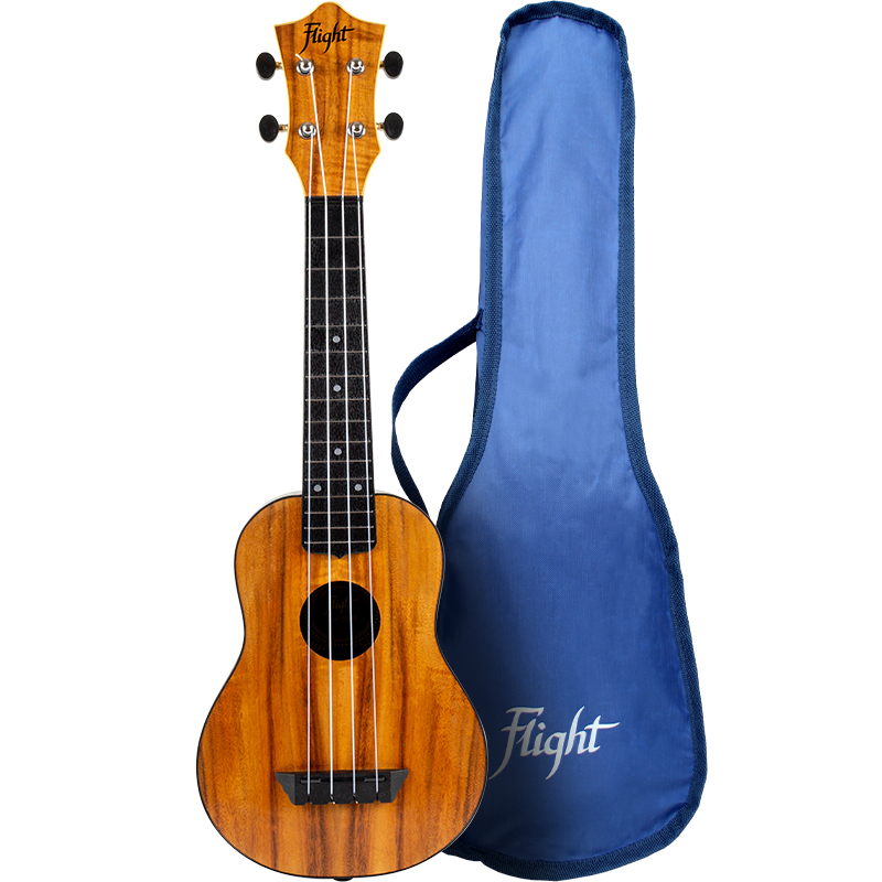 Flight TUS-55 Acacia Travel Ukelele Soprano