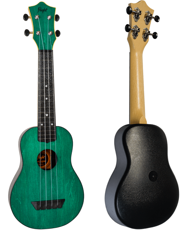 Flight TUS35 Green Soprano Travel Ukulele