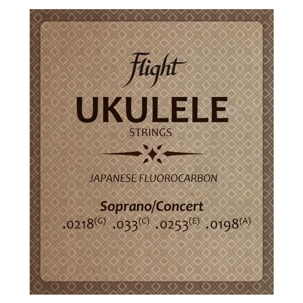 Флюкарбоновые струны для укулеле Flight FUSSC100 – Сопрано/Концерт
