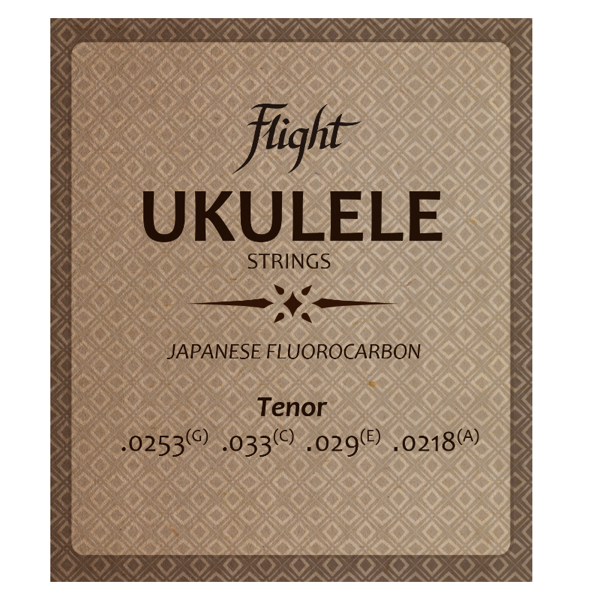 Flight FUST100 Fluorocarbon Ukulele Strings – Tenor