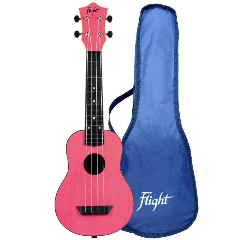 Flight TUS35 Pink Soprano Travel Ukulele
