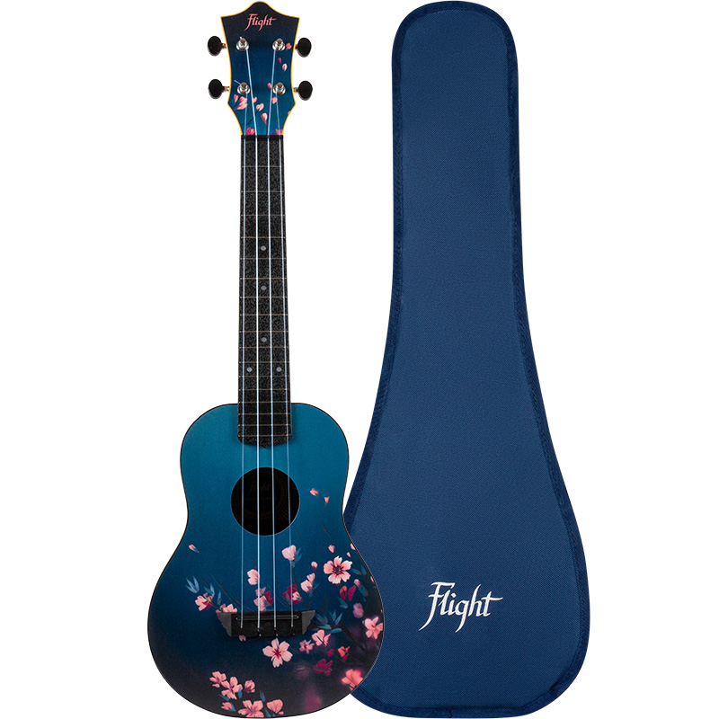 Flight TUC-32 SAKURA Concert Travel Ukulele