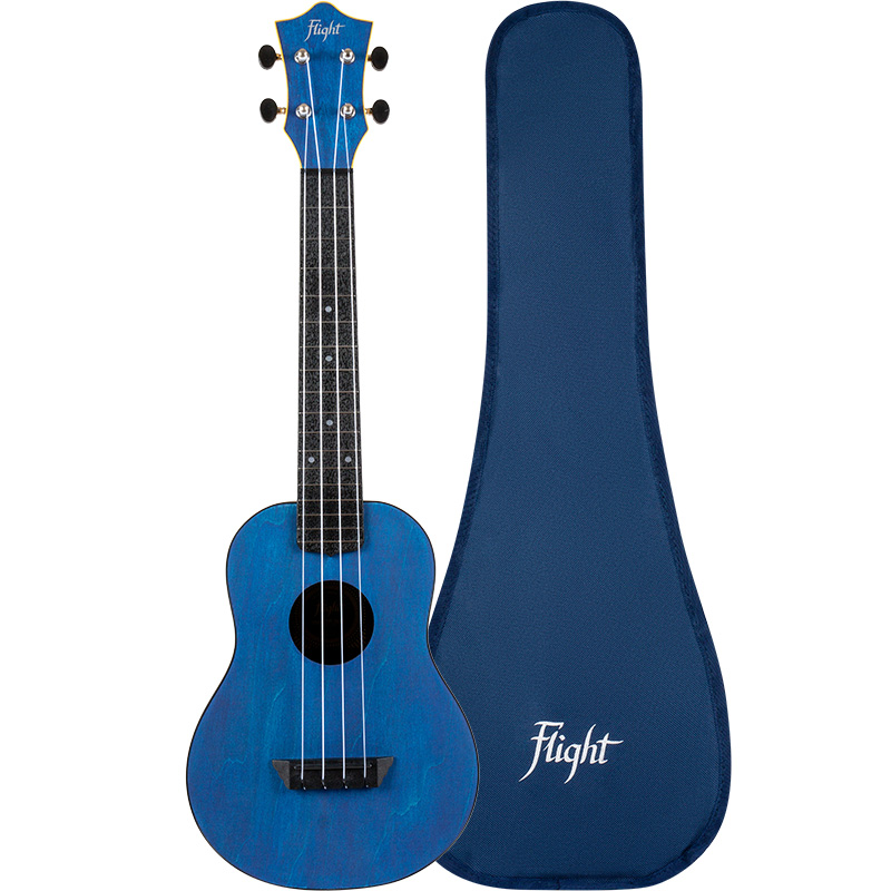 Flight TUC-35 Dark Blue Concert Travel Ukulele