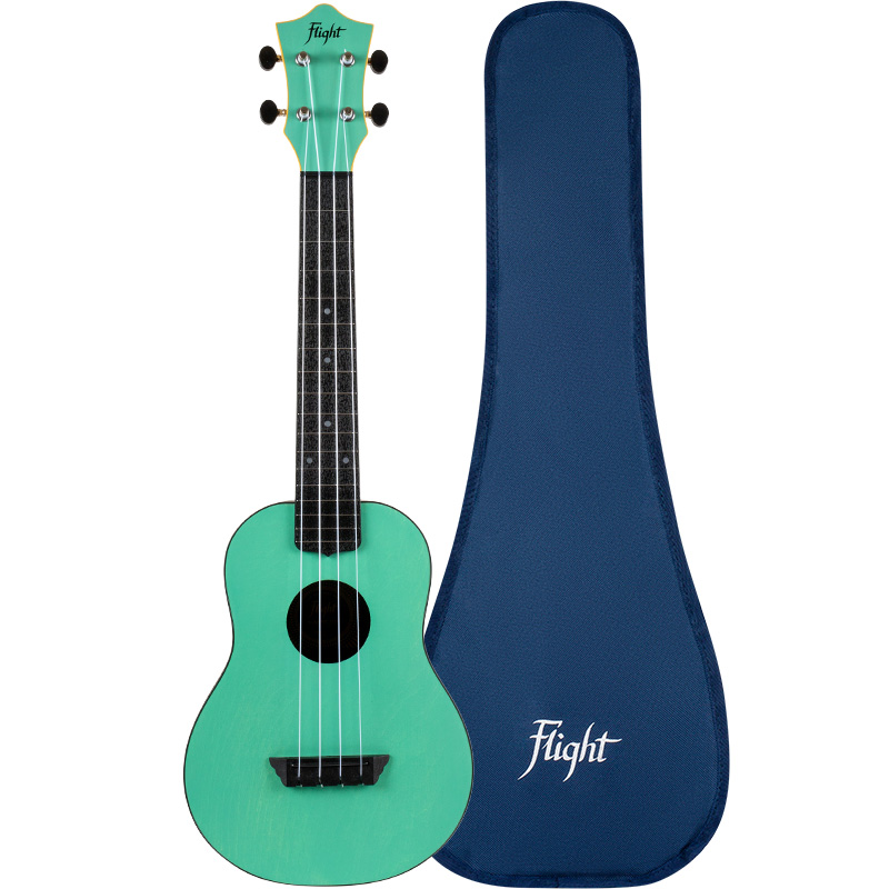 Flight TUC-35 Light Blue Concert Travel Ukulele