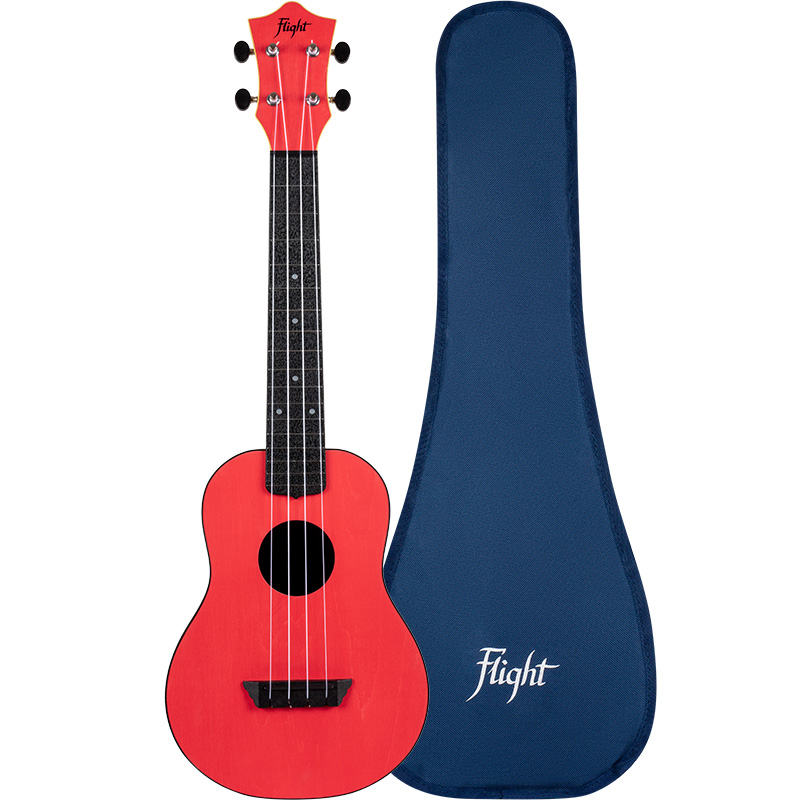 Flight TUC-35 Travel Ukelele Rojo Concierto