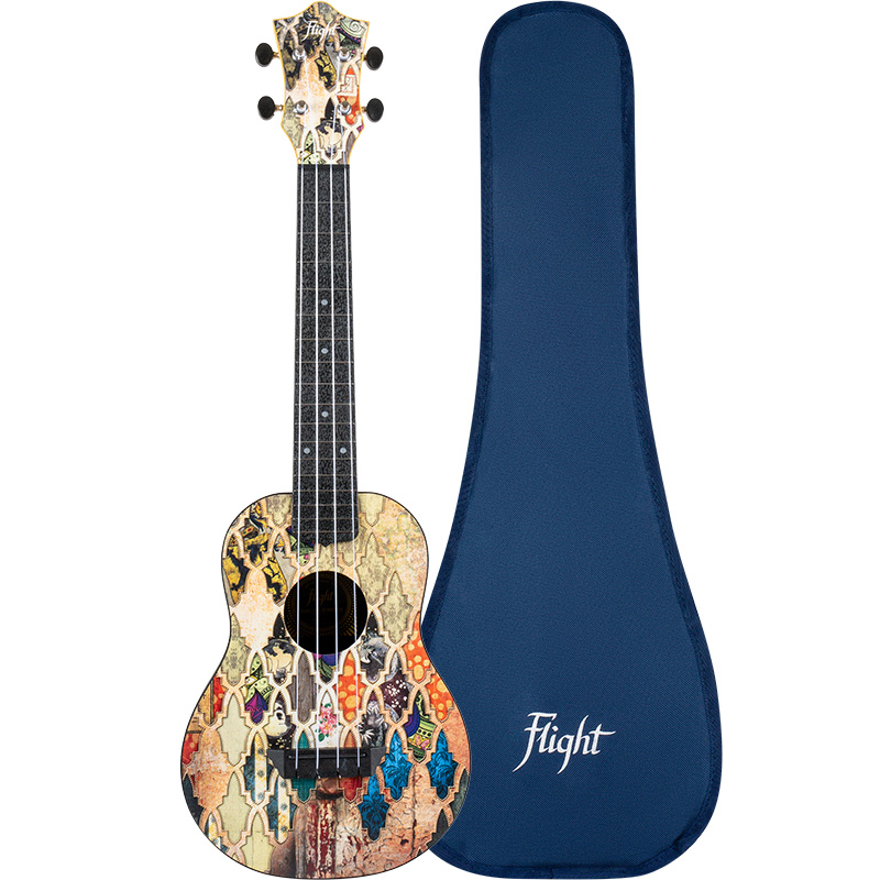 Flight TUC-40 GRANADA Concert Travel Ukulele