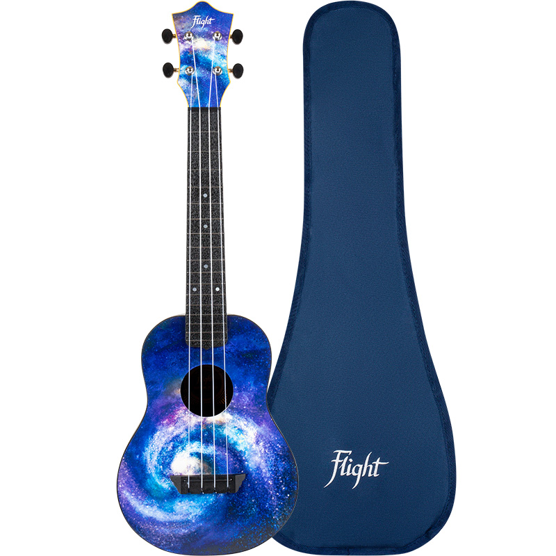 Flight TUC-40 SPACE Concert Travel Ukulele