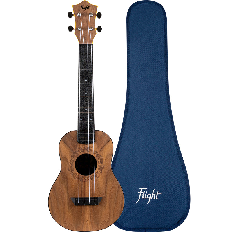 Flight TUC-50 SALAMANDER Travel Ukelele Concierto