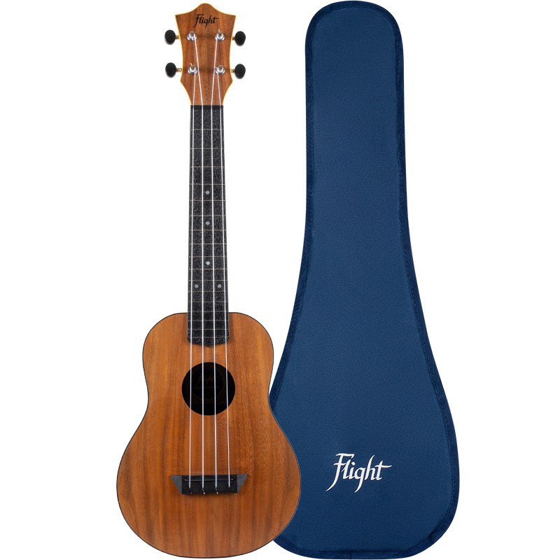 Flight TUC-55 Acacia Travel Ukelele Concierto