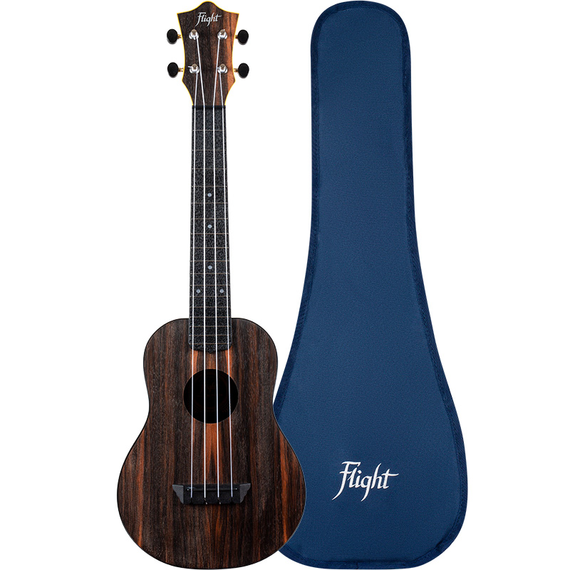 Flight TUC-55 Amara Travel Ukelele Concierto