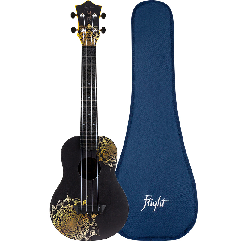 Flight TUC-40 GD MANDALA Concert Travel Ukulele