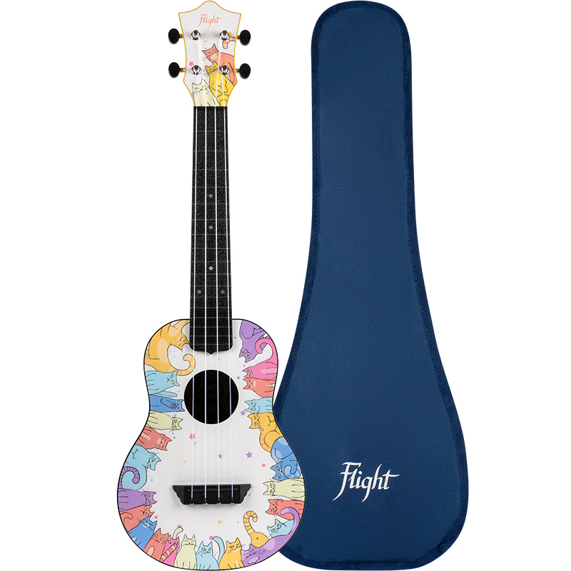 Flight TUC-KITTY Travel Ukelele Concierto